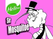 表情,贴纸,表情包,贴图,Hellowe Stickers: Sir Mosquitoe