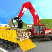 重型挖掘机起重机操作员仿真3D 1.1