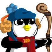 冷冻食品制造商,企鹅射箭游戏的乐趣 1