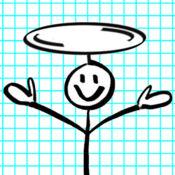 箭头和火柴人:像飞机一样飞行免费 1.2