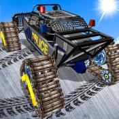 沙滩车浮冰路 - 3D赛车游戏