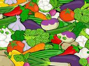 健康蔬菜贴纸:适合你治疗 1