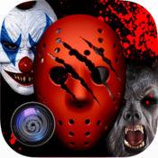 恐怖面具照片制作:僵尸小丑版 1