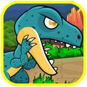 恐龙运行经典的战斗和射击游戏 1