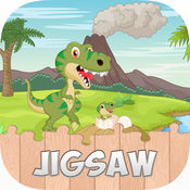 恐龙拼图的游戏为孩子和幼儿 1