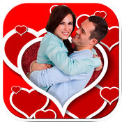 浪漫爱情相框照...