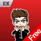 Emoji Kingdom 14  免费吸血鬼万圣节动态表情符号支持  iO