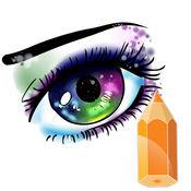 艺术教程动漫眼 1