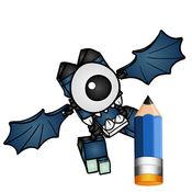 艺术教程LEGO mixels英雄 1
