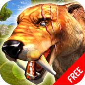 军刀 牙 虎 生存 模拟 器 游戏 : 野生 动物 免费 1.0.0