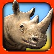 动物游戏 - 免费 动物 赛车 快跑 比赛 为 iPhone / iPad 1