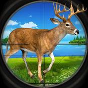 苹果浏览器 挑战 : 鹿 驼鹿 猎人 模拟器 1