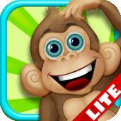 野生动物园猴子泡泡冒险LITE - 免费儿童游戏! Safari Monke