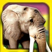野生动物园 运行 免费 - 动物 跑步 生存 游戏 为孩子们 1