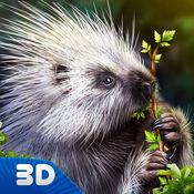 森林豪猪模拟器3D 1