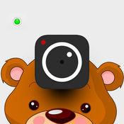 面部捕捉的交换Line Camera和Snapchat