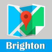 布莱顿地铁火车地图旅游指南 1