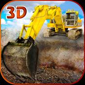 砂挖掘机模拟器 3D-真正的卡车司机和施工模拟游戏 1.0.2