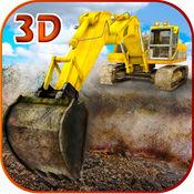 砂挖掘机模拟器 3D-真正的卡车司机和建筑模拟器 1.0.3