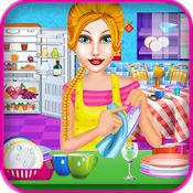 清洗盘子 女孩的游戏 1.0.1