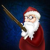 圣诞老人用猎枪:...
