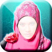 伊斯兰 头巾 和 面纱 照片 蒙太奇 - 時髦 穆斯林 婦女 1.2