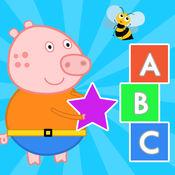 早教 游戏 : 英文学习 幼儿 ABC 儿童拼图 1