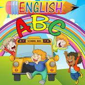 学龄前幼儿园少儿英语ABC字母和leters第一本书为幼儿男孩