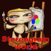 3D stereogram world