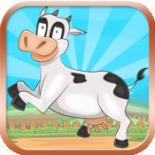 姆日跳转免费 - 拥有牛,猪,鸡和朋友! 1