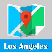 洛杉矶旅游指南地铁美国甲虫离线地图 LA Los Angeles trav