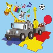 教育拼图游戏(儿童英语学习活动) 1