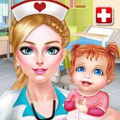 新生儿护士 - 医生与化妆游戏