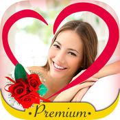 照片编辑之爱情相框用来编辑浪漫爱情相片的照片编辑器,把你爱的图片用相框制作 - 高级版
