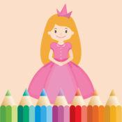 图画书 公主的女孩:公主填色 1
