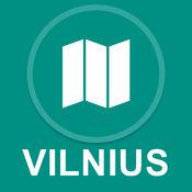 维尔纽斯,立陶宛 : 离线GPS导航