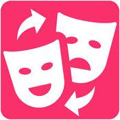 面部交换 - 替换面临着朋友和表情符号