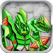 剑龙战甲: 机械恐龙拼图组装射击 模拟变形系列益智小游戏