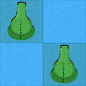 在鳄鱼退一步亲 - 赛车小游戏单机跑车暴力摩托大全双人摩