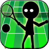 火柴人网球运动游戏 1