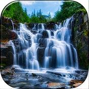 瀑布壁纸免费 - 美丽的自然背景和HD锁屏图片 1
