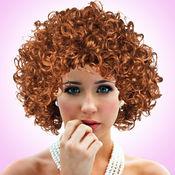 卷发发型新潮新造型为女孩