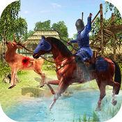 射箭与箭头射击狩猎动物与射箭的动物狩猎 1.1