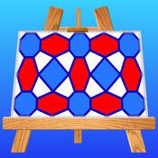 Pattern Artist -- 轻松地创造出花样图案, 电脑壁纸和抽象