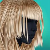 发型及剪发游戏 – 美容沙龙为女孩免费 1