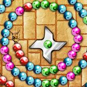 疯狂忍者泡泡射手 - 凉爽的大理石配对游戏 1.4