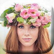 婚礼花朵冠照片蒙太奇 - 找到你的完美发型时尚配饰及头饰