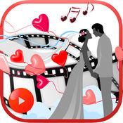 婚礼照片到视频拼贴 - 幻灯片制作