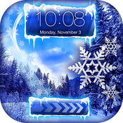 冻结 壁纸 - 雪 背景 和 冰 与 冬季 主题 自由 2