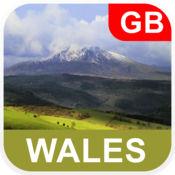 威尔士 离线地图...